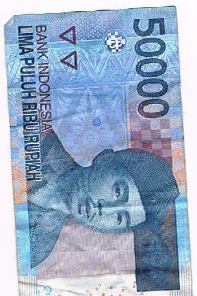 Beda Sendiri **Ada yang Aneh gan di Uang 50.000 Ane,**Beda Sendiri