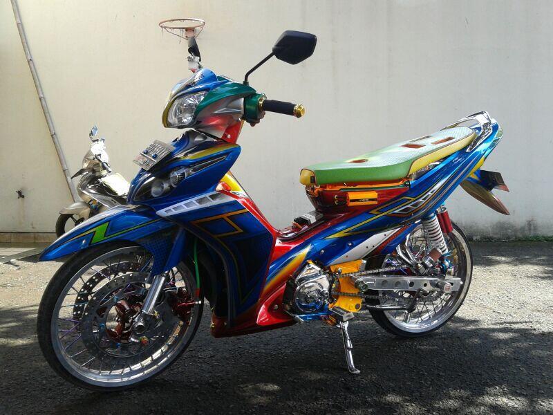Cari Yamaha Jupiter Z 2010 Modif Pemenang Kontes.. Pake