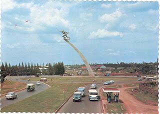 Jalan MH.Thamrin tahun 60-70an[+PIC+]