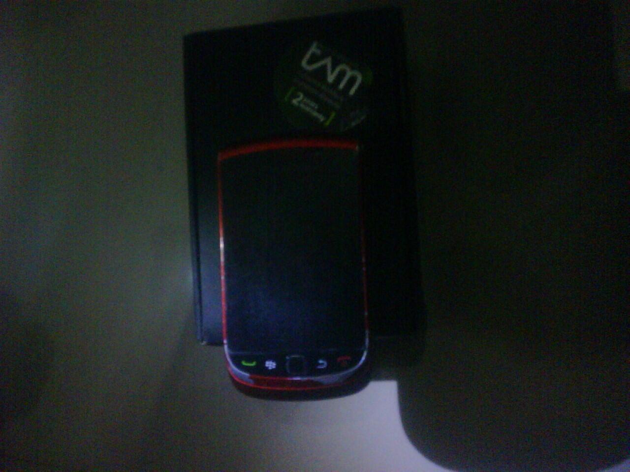 BLACKBERRY TORCH 9800 RED
