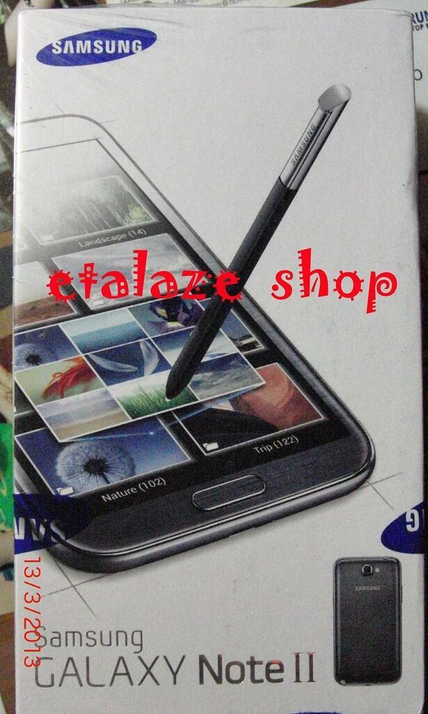 BNIB: Galaxy Note 2 N7100 Murah & Garansi resmi