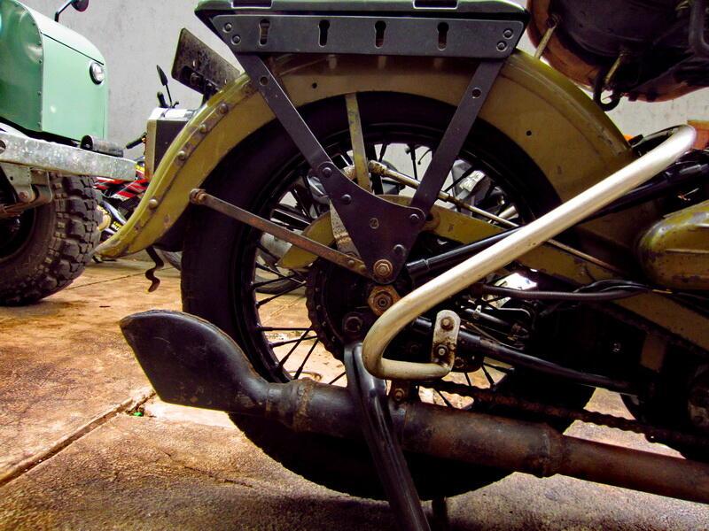 JUAL : WL Harley Davidson 1947