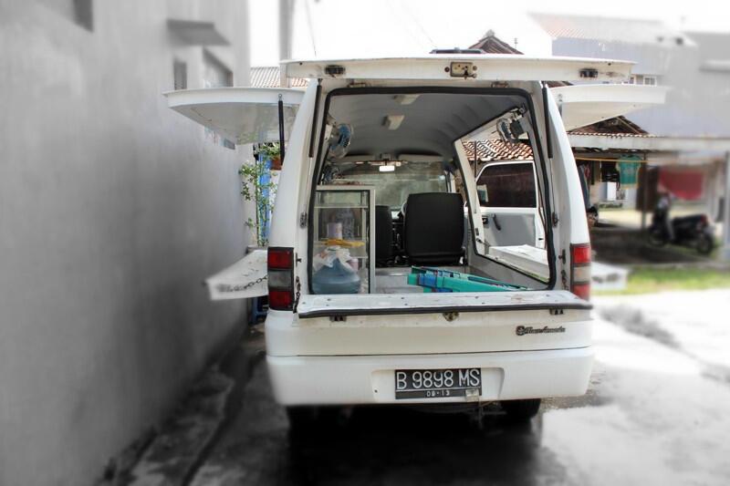 Mobil Toko (MOKO) Suzuki Carry 1.5 Tahun 2008 Jamin Mulus !!!!