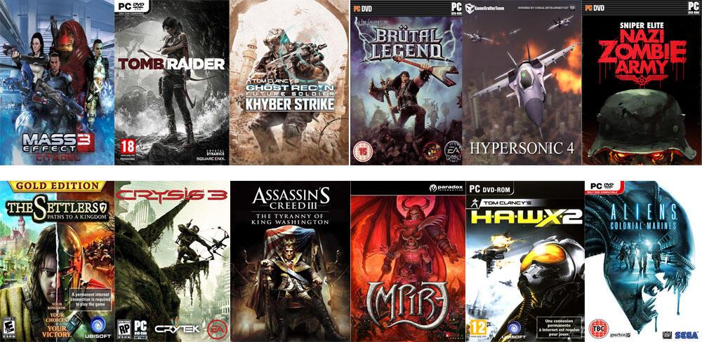 DVD GAME PC LENGKAP HIGH COVER QUALITY READY STOCK - BANDUNG