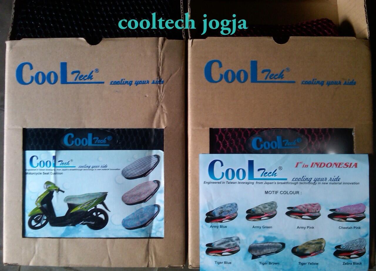 cover jok anti panas cooltech motor suzuki satria fu
