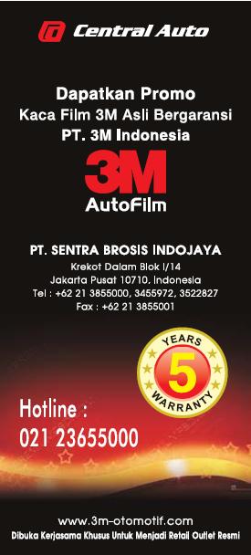 PROMO KACA FILM 3M INDONESIA ASLI TERBATAS BULAN MARET