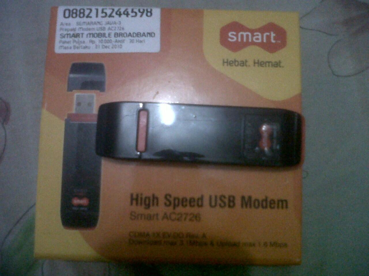 WTS modem smartfren AC-2726 muluusss...