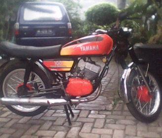 Jual motor RS100 '79