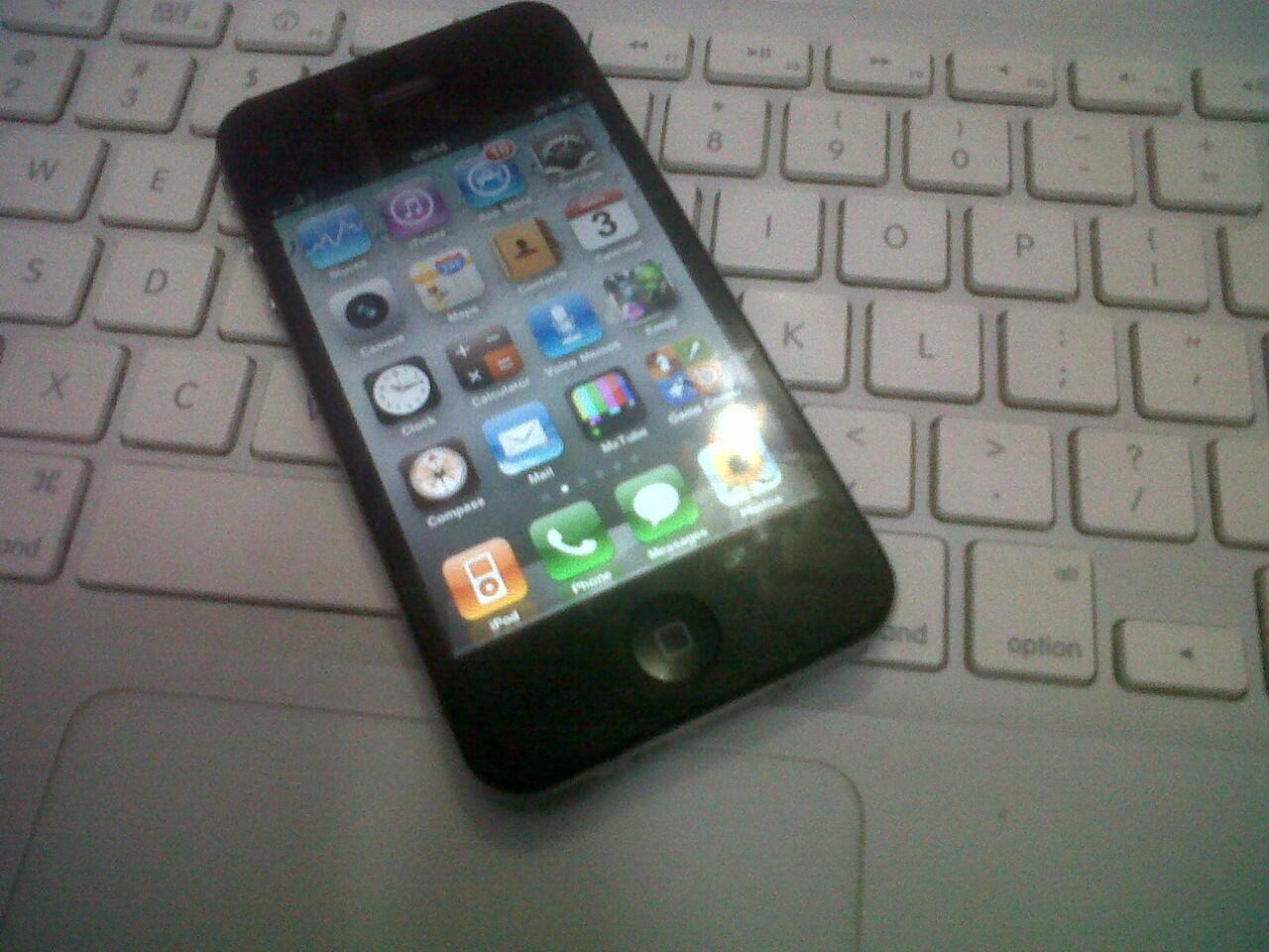 iphone 4 16gb black harga murmer gan