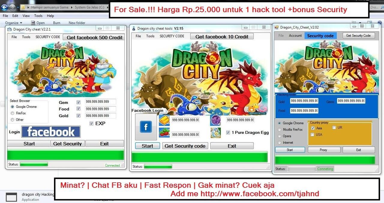 Terjual Jual Dragon City Hack Tool