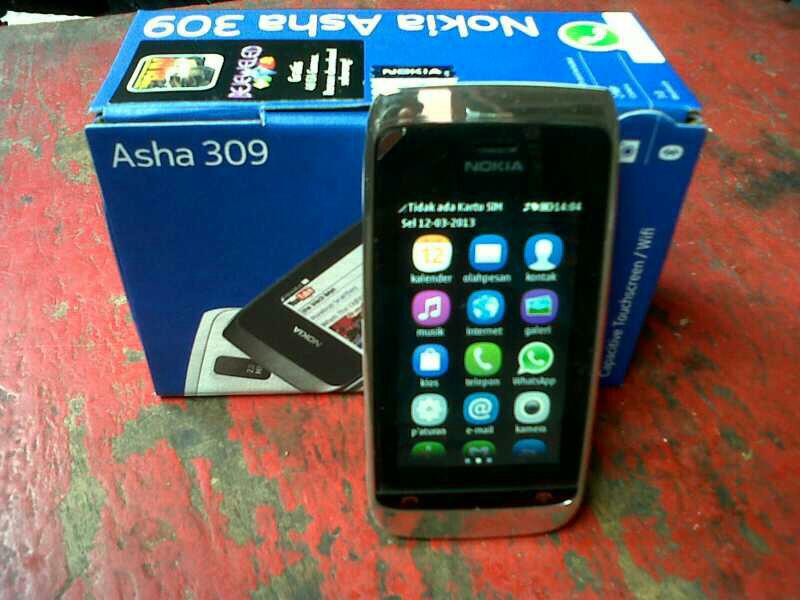 jual Nokia asha 309 mulus like new jakarta