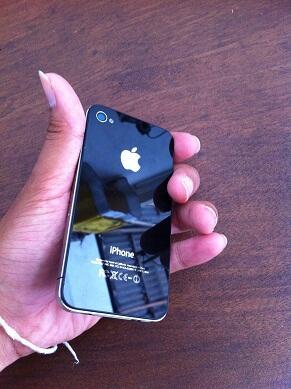 [WTS] JUAL iPhone4 32GB Black (Second) Bali
