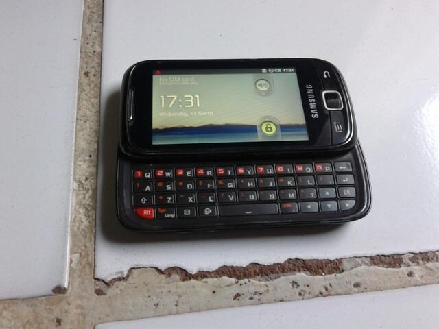 Samsung Android Galaxy Callisto (2nd) lengkap, murah