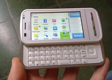 Nokia C6 Handphone