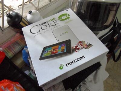 tablet pixcom voiz 3d mulus ga jadi dipake, bisa telpon sms