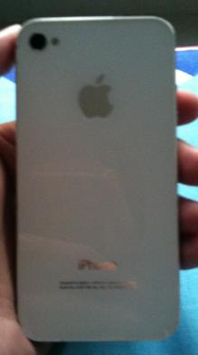 iphone 4 iphone4 16gb 16 gb cdma white fullset masuk dulu gan!!!!