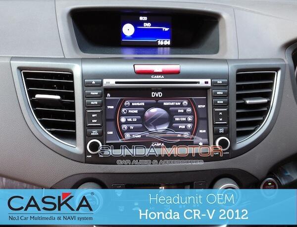 Headunit OEM HONDA CRV 2012 ( High Technology & Smart Multimedia System )