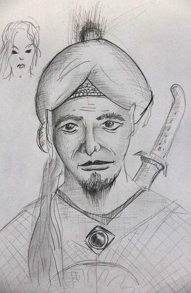 Jasa sketsa Khodam Pendamping, spirit, pusaka, dll
