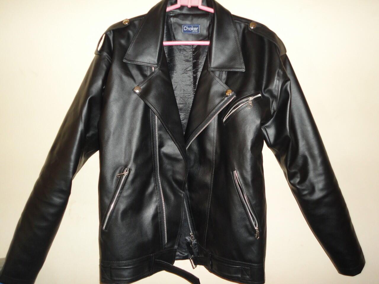 Jual jaket semi kulit (kulit imitasi dengan kualitas baik dan harga  terjangkau) b56bfb5ed7