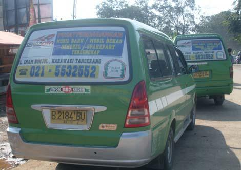 54 Koleksi Gambar Stiker Mobil Angkot HD