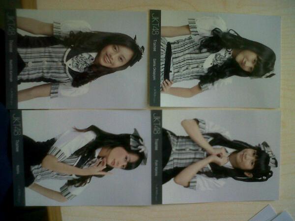 [WTS] photo pack JKT48 Trainee Kissu Shite, harga pelajar gan!!
