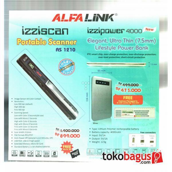 WTS scaner dan alfalink promo