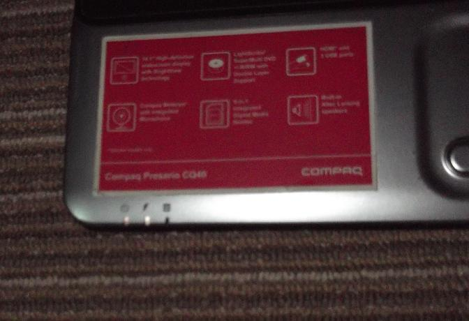 part laptop compaq cq40 core2duo