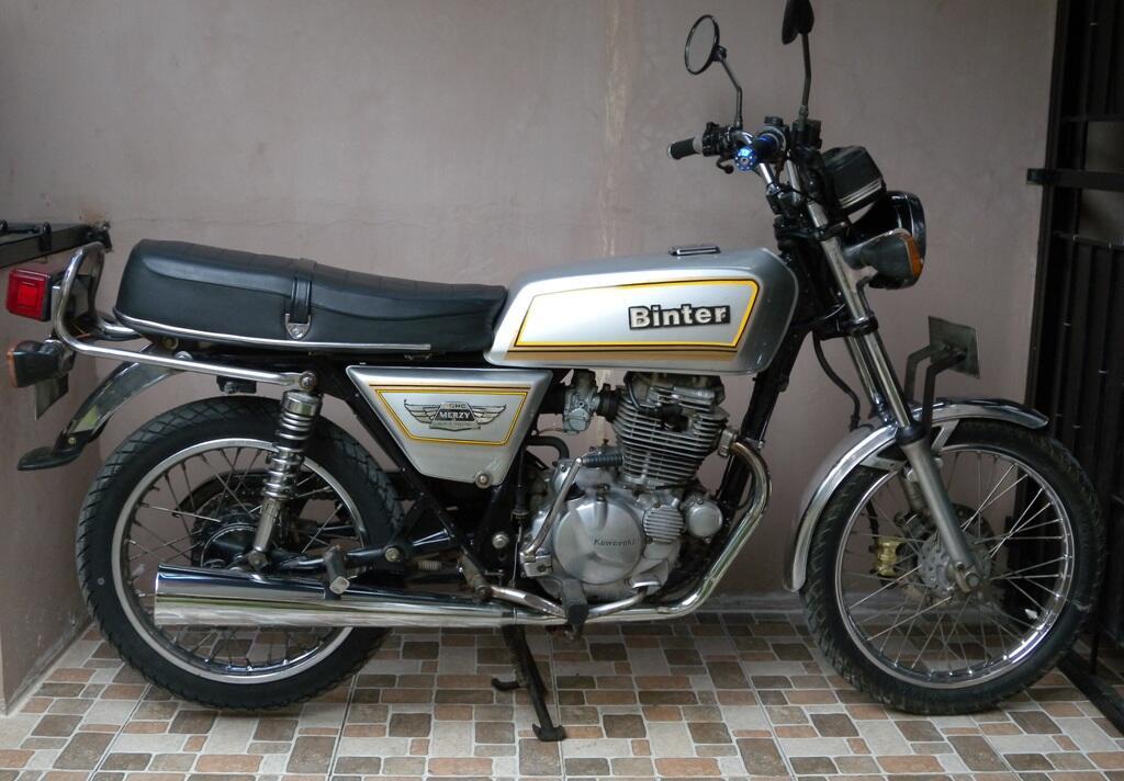 Kawasaki kz200 a.k.a Binter Merzy 83