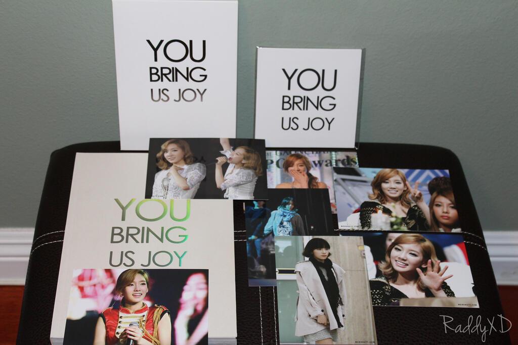 "WTB Taeyeon merong 2nd DVD and 1st Photobook ""You Bring Us Joy"""