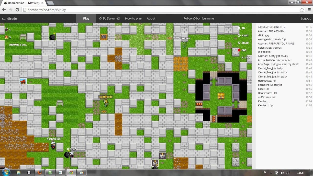 [HTML5]BomberMine (BomberMan Online)