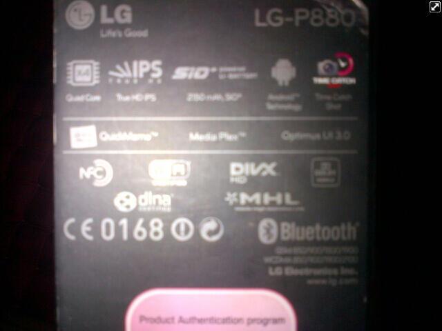 LG 4X HD white Quadcore+nvidia tegra3 Quadcore VGA+Dobly Audio S4 Kiler NEGO SMPE JD!