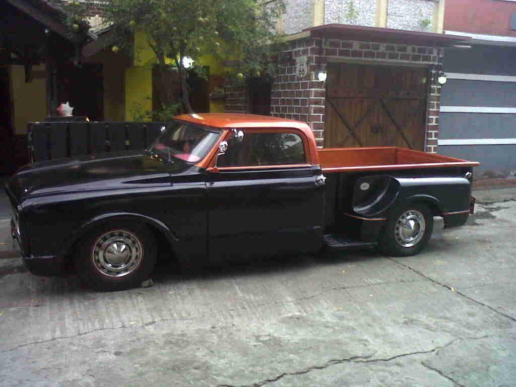 chevrolet pick up c 10 hotrod 1969
