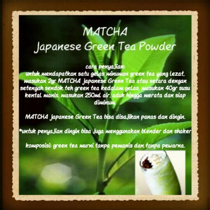 MATCHA Japanese Green Tea Powder