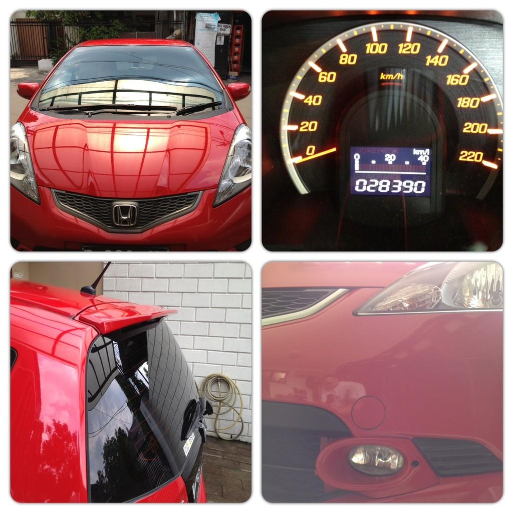 FOR SALE HONDA JAZZ RS A/T 2008 RED