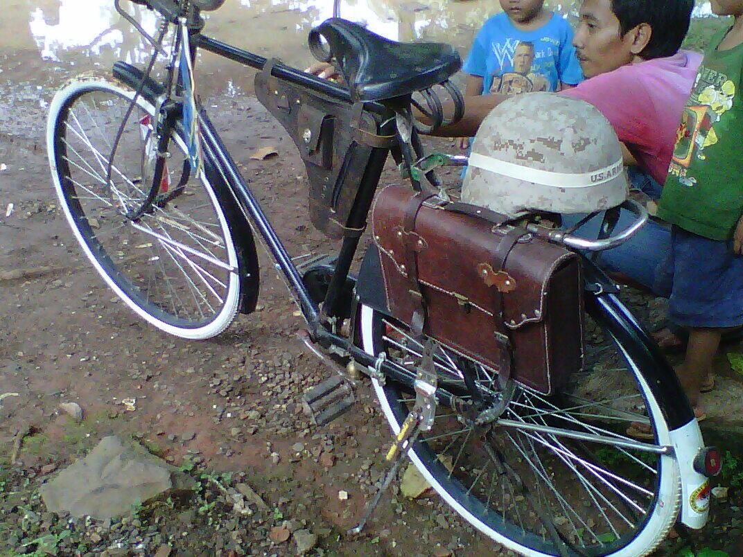 Sepeda Onthell Full Accessories Merk Raleigh