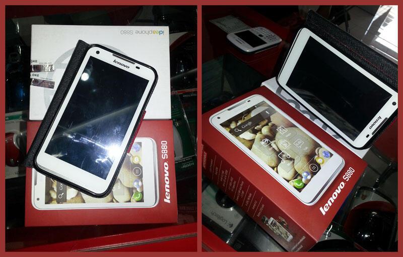 Lenovo S880 Phablet Android 4.0 3G Smartphone MURAH BANYAK BONUS BEKAS ARTIS