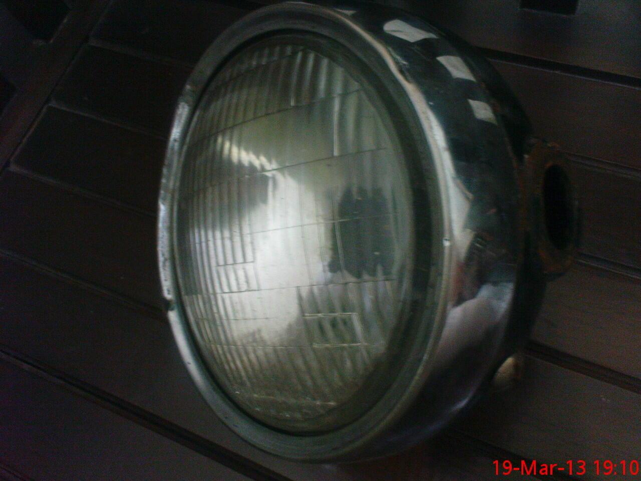 WTS: Karbu Binter MErzy CDI ori dan lampu depan bulat seken