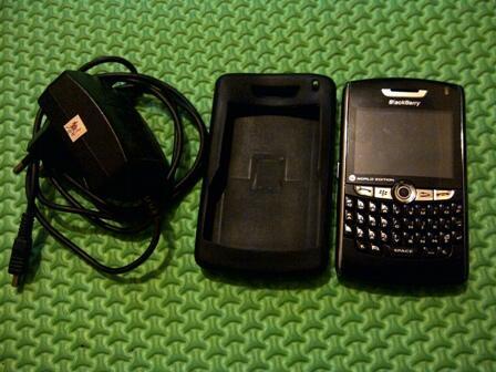 Blackberry Huron 8830 + jellycase ( jarang ada loh jellycase huron )