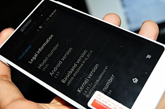 NEW BM Murah Sony Xperia GO ST27i Putih