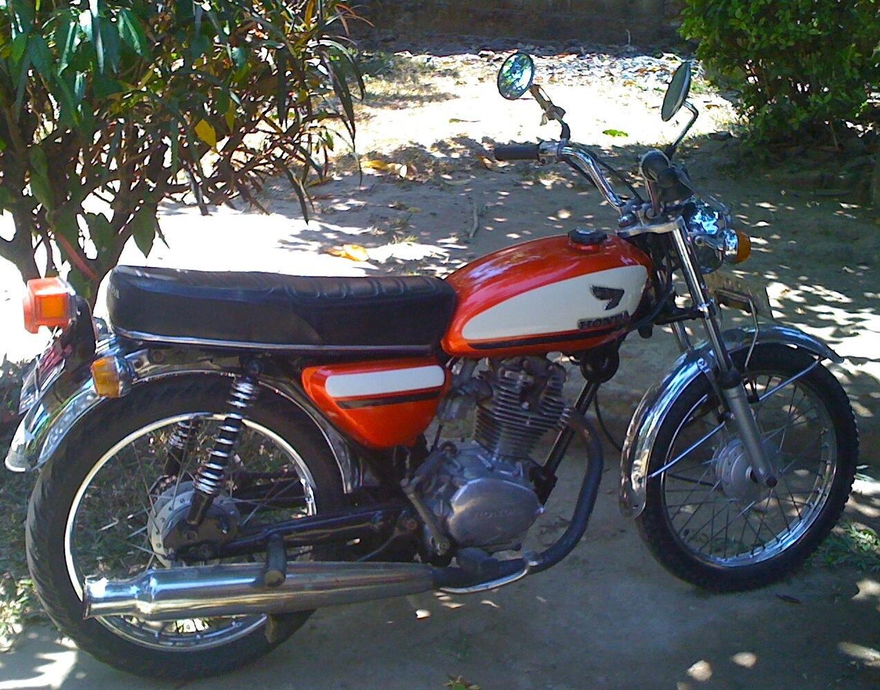 honda cb 1973 unik original