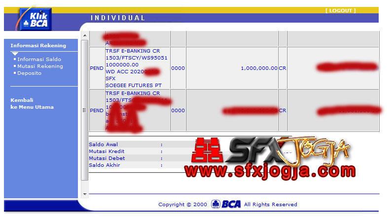 [SFX - http://miniforex.sfx.co.id] Broker lokal bisa mini akun. LEGAL oleh Bappepti.