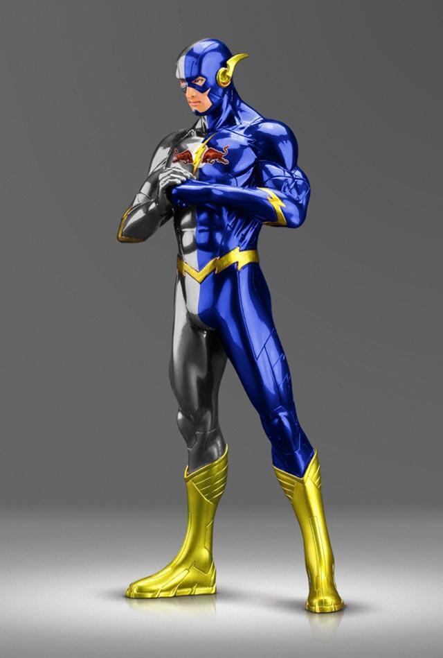 Inilah Penampilan Para Superhero Jika Disponsori Merek Terkenal [PIC ONLY]