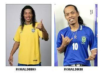 Bertemu Ronaldikin, Cannavaro : 'Ini dia Ronaldinho asli'
