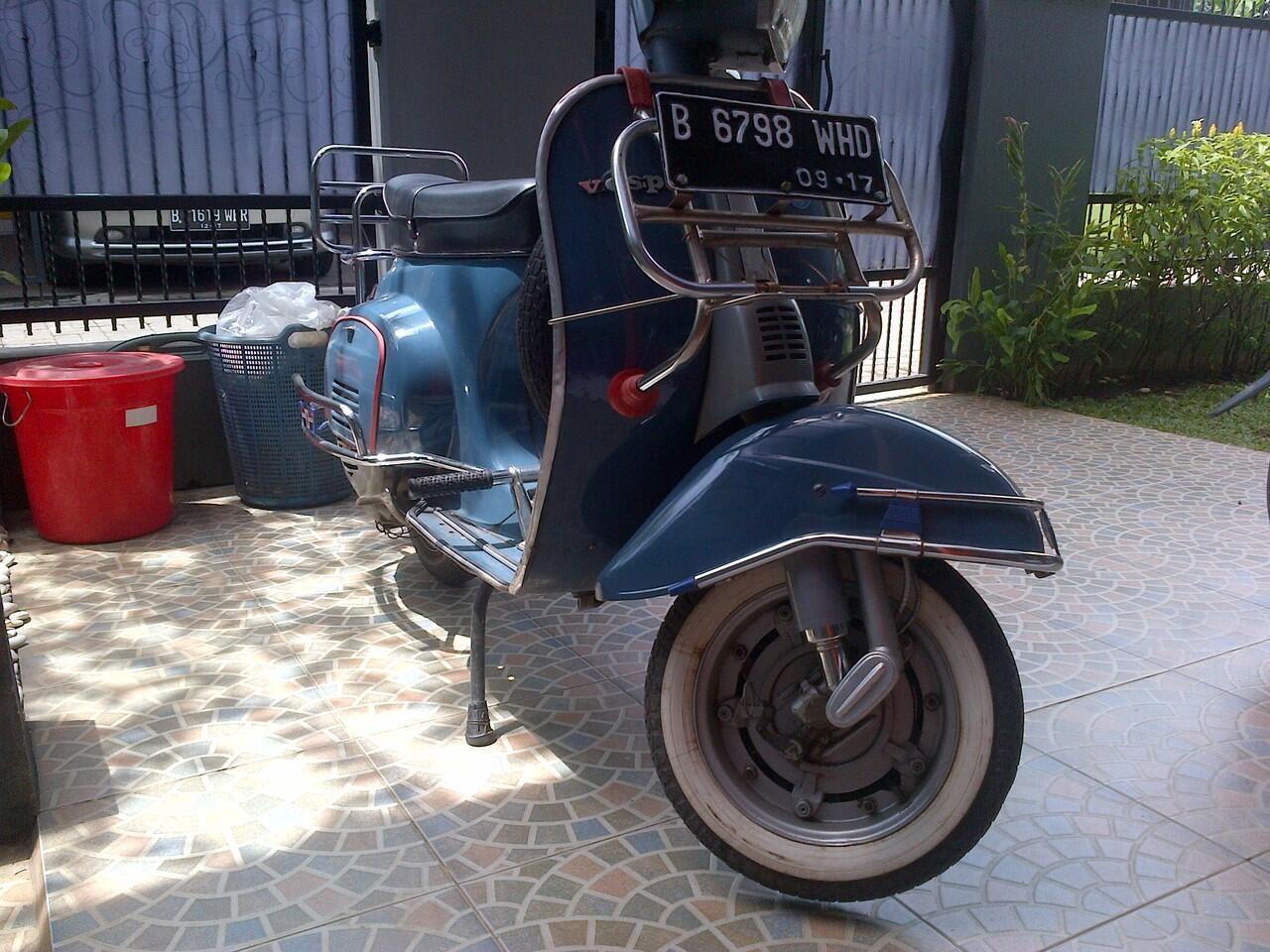 Vespa PTS 100cc 1981
