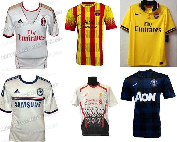 [HOT!!] Prediksi Desain Jersey Klub-Klub Besar Eropa Musim Depan