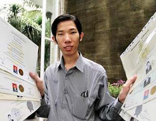100 SKS per Semester, Pria ini Raih 18 Gelar Akademik