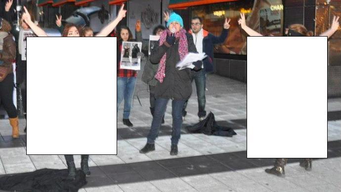 gila,para wanita komunis iran gelar protes anti-hijab dengan telanjang di swedia