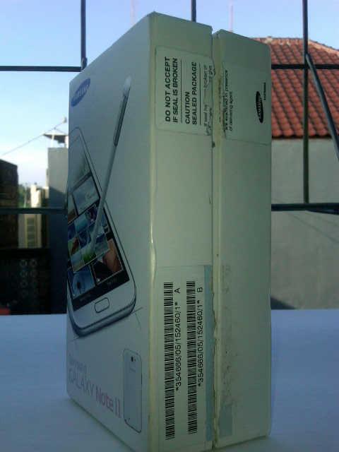 SAMSUNG Galaxy Note II muluss abiss [Jogja]