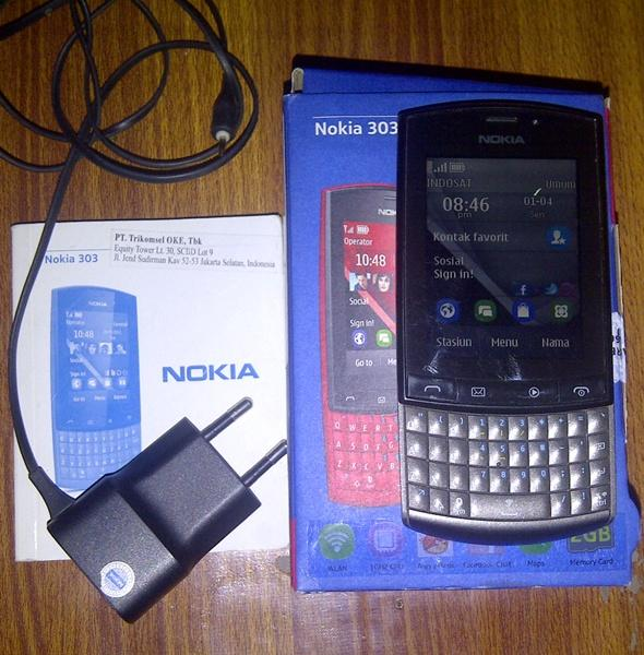Nokia asha 303 bisa TT bandung