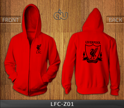 Ready Stock Hoodie Zipper Liverpool Exclusive